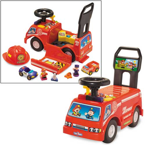 Fire Rescue 911 Open-and-Play Ride-on Playset