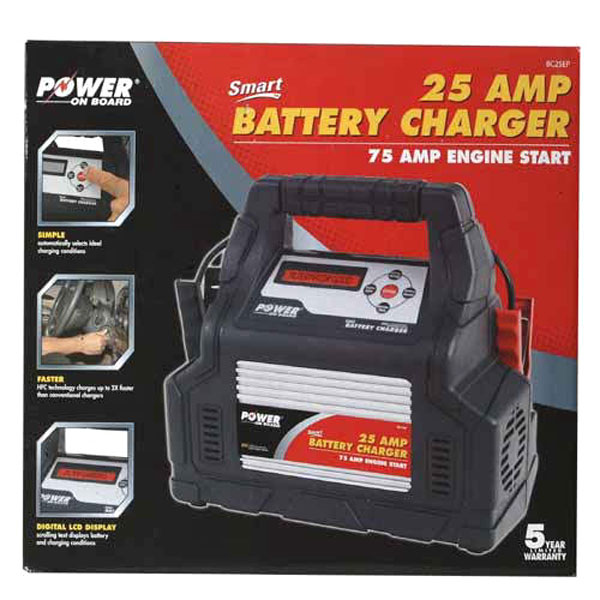 VECTOR Power On Board 25 Amp Battery Charger