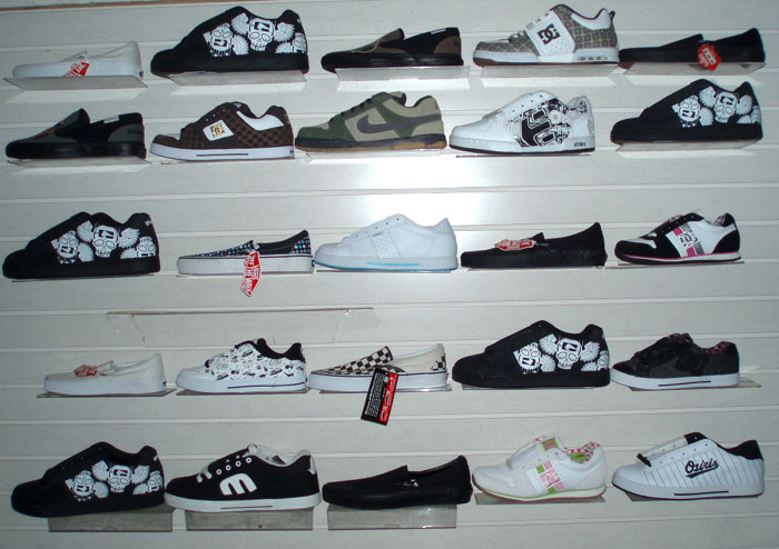 Wholesale Mens and Women Skate Shoes Loose without Boxes