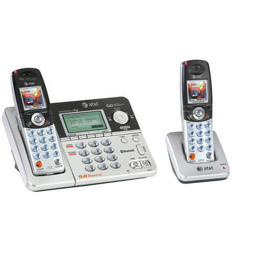 AT&T 5.8GHz Bluetooth Phone System w/ 2 Handsets